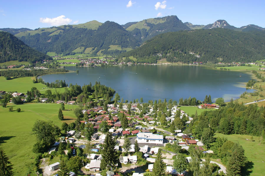 Terrassencamping S 252 D See Walchsee Kaiserwinkel Tirol